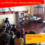 La M.A.M en visioconferéncia